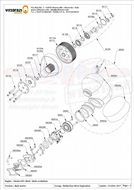 ME083 Reed valve gasket (Internal pulse circuit - Carter side) ( Qty Req 1)